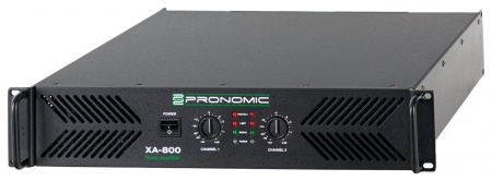 Pronomic XA-800 amplifier, 2x 1900 Watt