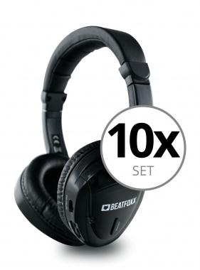 Beatfoxx Silent Guide Classic Headphones 10-Piece Set