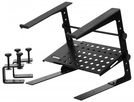 Pronomic LS-210 laptop stand Deluxe met haken