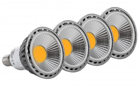 4x SET Showlite LED Spot E14W05K30D 5 Watt, 330 Lumen, base E14, 3000 Kelvin