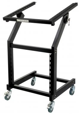 Pronomic MXS-600 Trolley de Rack 12+9HE avec roullettes