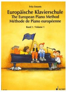 Fritz Emonts - Europäische Klavierschule Band I
