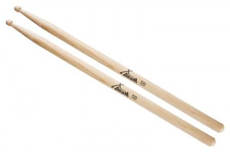 XDrum Drumstokken 5B - Houten Tip