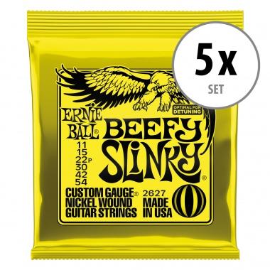 Ernie Ball 2627 Beefy Slinky - 5er Pack