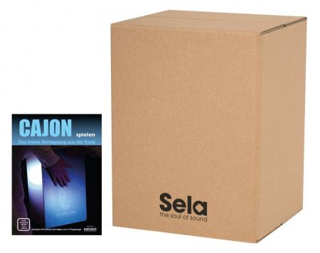 Sela SE 087 Carton Cajon SET inkl. Cajonschule