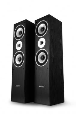 Bennett & Ross Radiant hi-fi paire d'enceintes colonne noires 2x 180W RMS