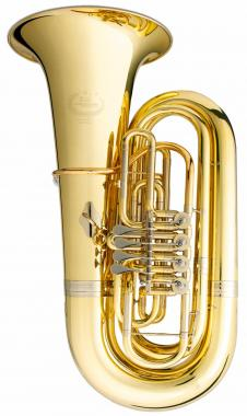 B&S GR51 4/4 Bb Tuba Goldmessing klarlackiert