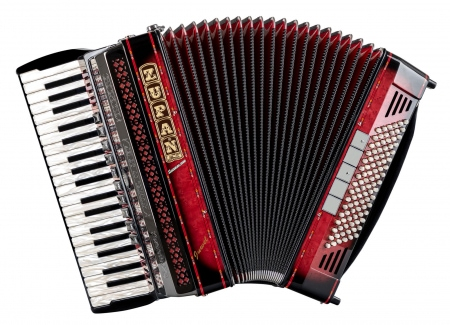 Zupan Juwel IV 96 EF/MHR Helikon Cassotto accordion, shadow red