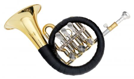 Classic Cantabile Brass Bb Posthorn / Hunting Horn