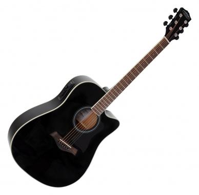 Classic Cantabile WS-20 BK guitarra acustica (tipo oeste) negra