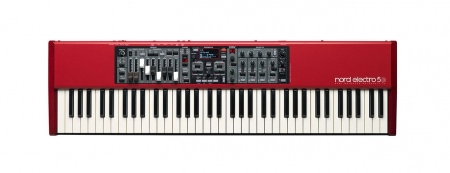 Clavia Nord Electro 5D 73 Synthesizer  - Retoure (Zustand: sehr gut)