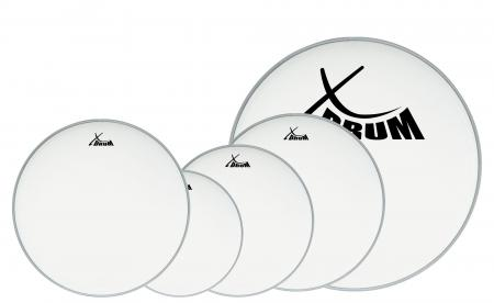"XDrum Coated Drum Head Set 10"" 12"" 14"" 20"" + 14"""