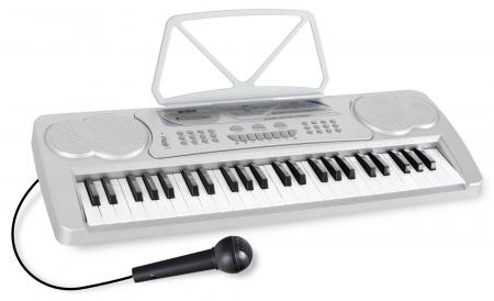 McGrey BK-4910SR Keyboard with 49 Keys and Partiton Holder Silber