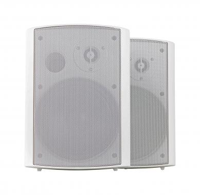 Pronomic USP-540 WH Pair HiFi Wall Speakers, white, 160 watts