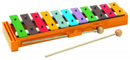 Sonor Glockenspiel für Kinder Sopran Bunt