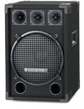 McGrey DJ-1222 Enceintes de Basement Party/DJ6800W