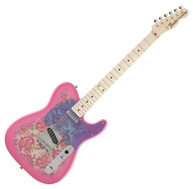 Fender Japan Ltd. Classic 69 Tele Pink Paisley