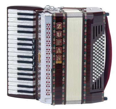 Zupan Alpe III 72 /MH  Accordion  (Palisander)
