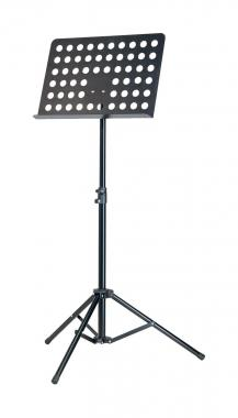 K&M 11899 Orchesternotenpult Lochblech