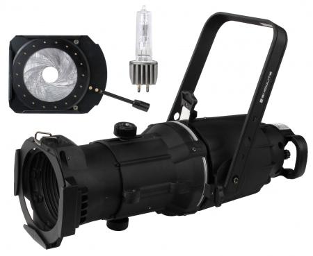 Showlite GL060 26° foco Spotlight + lámpara + set iris
