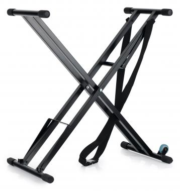 Classic Cantabile Keyboard Stand with Wheels