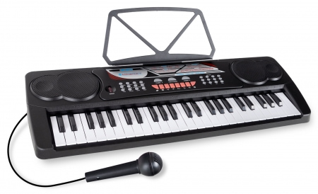 McGrey BK-4910BK Keyboard with 49 Keys and Partiton Holder Black