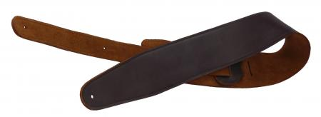 Rocktile G600 Leather Guitar Strap Brown