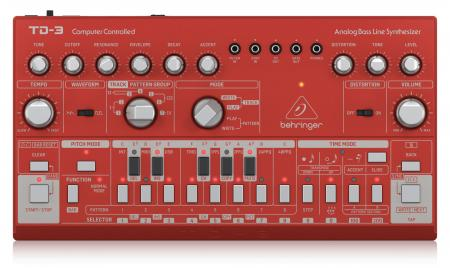 Behringer TD-3-RD Bass Line Synthesizer