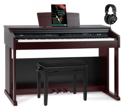 FunKey DP-2688A BM piano numérique brun mat set