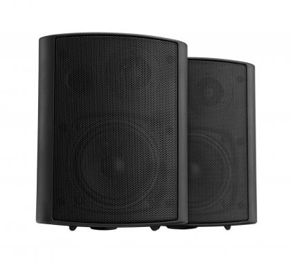 Pronomic USP-540 BK Pair ELA/HiFi Wall Speakers, black, 160 watts