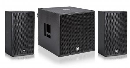 Harmonic Design MP10/P18-Basis Multi DSP Aktivsystem