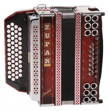 Zupan Juwel IVD Accordeon Shadow Rood (G-C-F-B)
