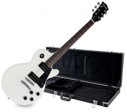 Shaman Element Series SCX-100W E-Gitarre weiß SET inkl. Koffer