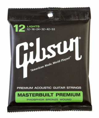 Gibson Masterbuilt Premium Phosphor Bronze Light
