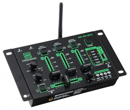 Pronomic DX-30 BTU DJ mixer with Bluetooth