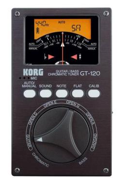 Korg GT-120 High End Guitar Tuner