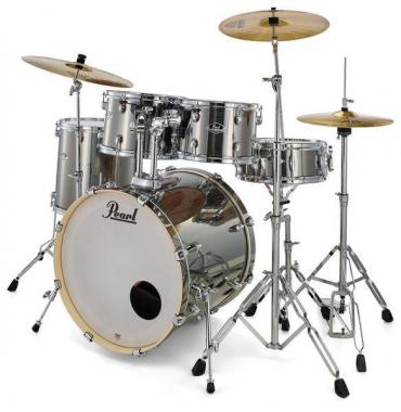Pearl Export EXX705NBR/C21 Drumkit Smokey Chrome