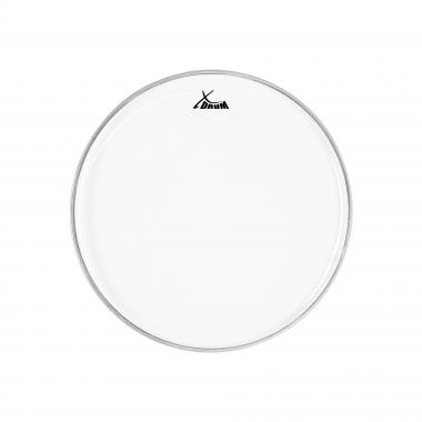 "XDrum 16"" Fell Transparent, einschichtig"