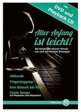 Michael Schwager, Getting started is easy, Piano school + DVD and CD