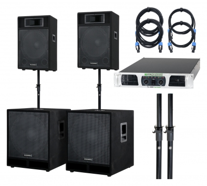 McGrey Powerstage-2800 PA-System 2800 Watts