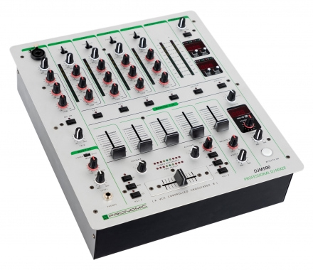 DJ-Mixer a 5 canali con Auto BPM Counter -Pronomic DJM200