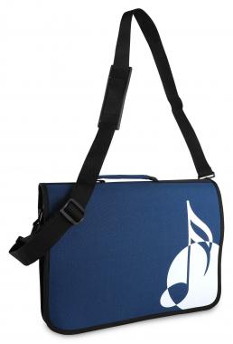 Classic Cantabile Music Bag Blue