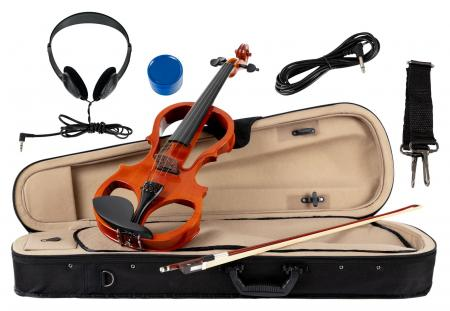 Classic Cantabile EV-81 Violon électrique set complet + casque audio