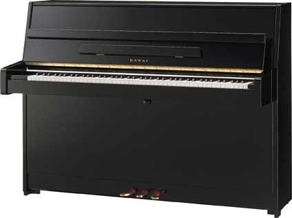 Kawai K-15 E Klavier Schwarz poliert - Ausstellungsstück