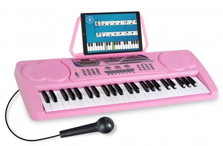 McGrey BK-4910PK Clavier avec 49 Touches et Pupitre Support de Notes Pink