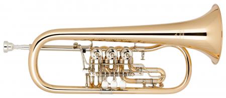Miraphone Bb-25 Flügelhorn Goldmessing