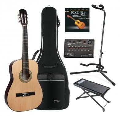 Classic Cantabile AS-851 Guitare de Concert 7/8  SET