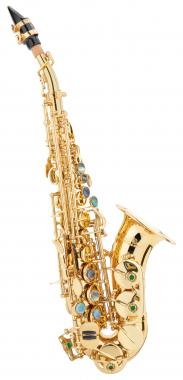 Lechgold LSS-20Lc saxophone soprane laqué