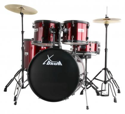 "XDrum Rookie 22"" Standard Batterie ruby red set complet"