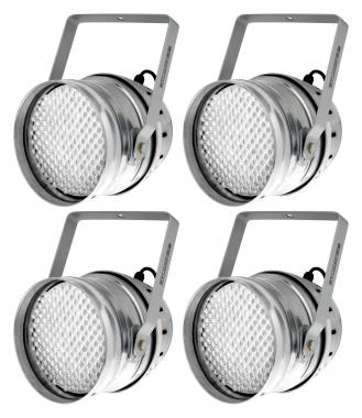 Showlite PAR-64 LED, 10mm, RGB (Set de 4)